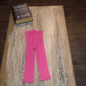 DKNY Pink Crop Tights - S